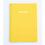 2020/21 ACADEMIC Diary A5 Week/View YELLOW