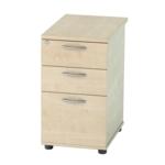 ErgoFlo Desk High Pedestal 2+1 Drawer 600mm