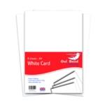 A4 White Card 160gsm 8Sheets Pk10