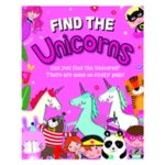 Find the Unicorns Book Pack of 12