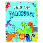 Find the Dinosaurs Book Pack of 12