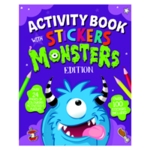 Monster Activity Book Pack of 12