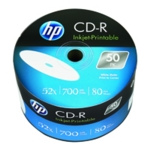 HP CD-R IJet 52X 700MB Wrap Pk50