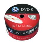 HP DVD-R 16X 4.7GB Wrap Pk50