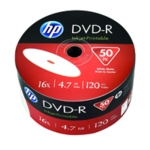 HP DVD+R IJet 16X 4.7GB Wrap P50