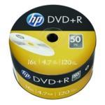 HP DVD+R 16X 4.7GB Wrap Pk50