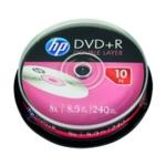 HP DVD+R DL 8X 8.5GB Spindle P10