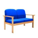 FF First Reception 2P Sofa Blue