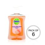Dettol Moisture Hand Wash 250ml Pk6