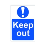 Spectrum Keep Out Sign 200x300mm