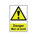 Spectrum Danger Men At Work Sign