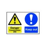 Spectrum Danger Construct Site Sign