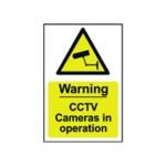 Spectrum Warning CCTV Camera Sign