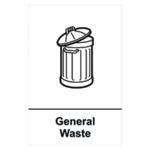 Spectrum Recycle Sign Gen Waste SAV