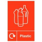 Spectrum Recycle Sign Plastic SAV