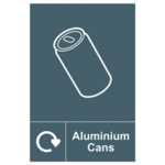 Spectrum Recycle Sign Alu Cans SAV