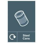 Spectrum Recycle Sign Steel Can SAV