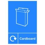 Spectrum Recycle Sign Cardboard SAV