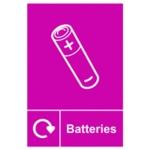 Spectrum Recycle Sign Batteries SAV