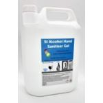 Alcohol (70%) Sanitising Hand Gel 5 Litre Refill