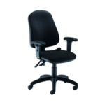 Jemini Intro Pst Chair with Black