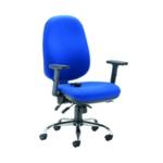 Arista Aire Hbk Erg Chair Blue