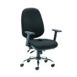 Arista Aire Hbk Erg Chair Black