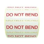 Dont Bend TT Lbl 101x36mm 1000/Roll