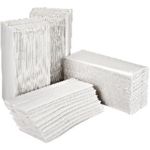 C Fold 2ply White Paper Hand Towels