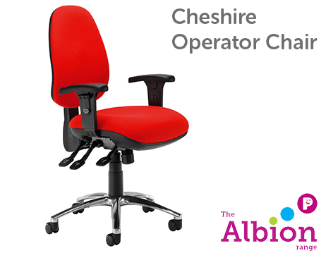 Cheshire Operator Chair available in a range of colours