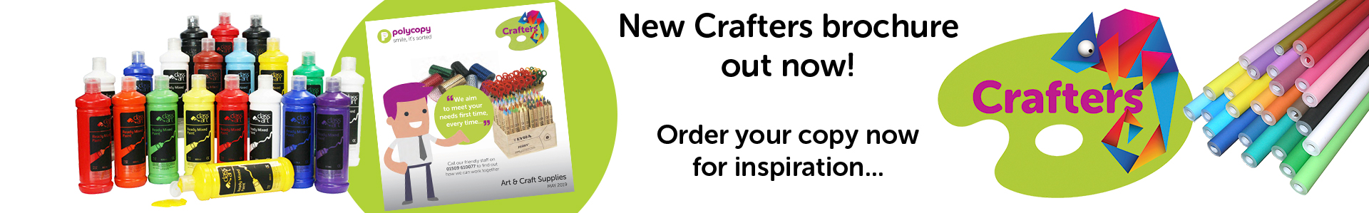 Polycopy Crafters brochure - get your inspiration now