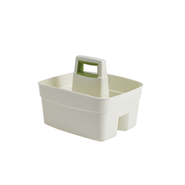 2Work Durable Cleaning Caddy with Handle Cream 2W02329