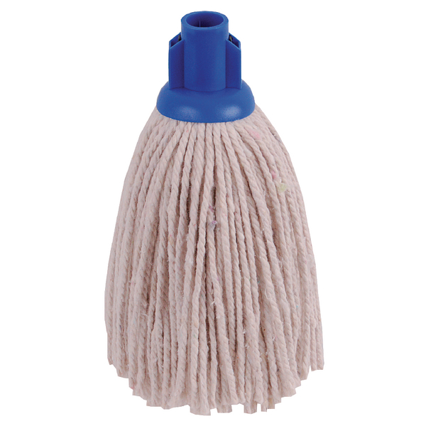 2Work PY Smooth Socket Mop 12oz Blue (Pack of 10) 101869B