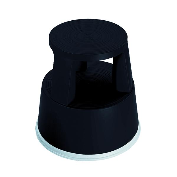 2Work Plastic Step Stool Black T7/Black