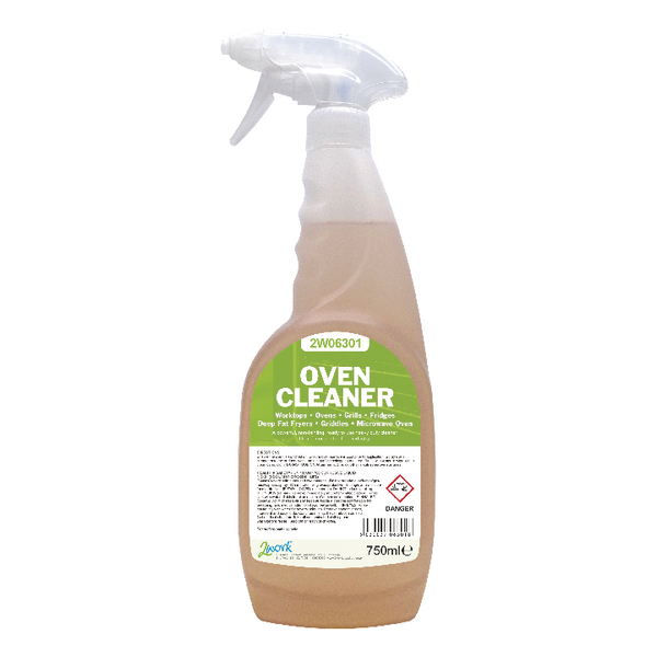 2Work Oven Cleaner 750ml (Ready to use trigger spray) 2W06301