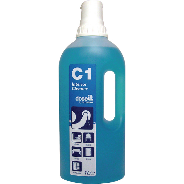 Dose It C1 Multipurpose Cleaner 1 Litre (Pack of 8) 2W06309