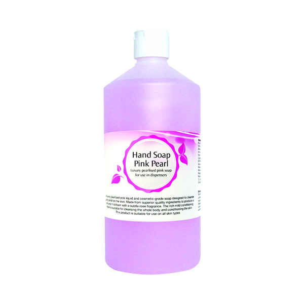 2Work Pink Pearl Hand Soap 750ml 402