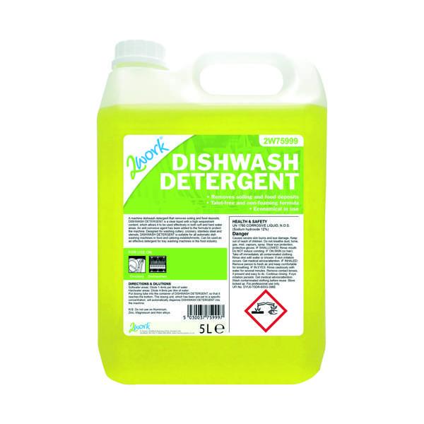 2Work Dishwasher Detergent 5 Litre 314