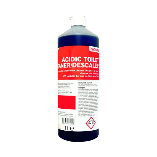 2Work Acidic Toilet Cleaner 1 Litre 2W76002