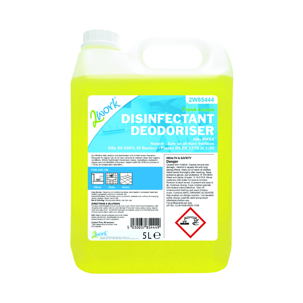 2Work Disinfectant Deodoriser 202