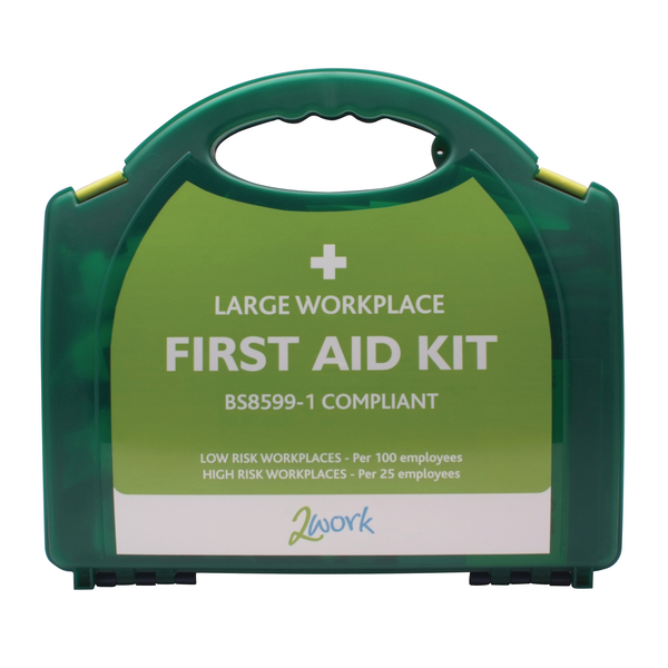 2Work BSI Compliant First Aid Kit Large for 100 People 2W99439