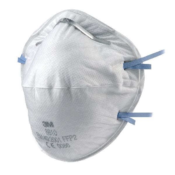 3M Cup Shaped Respirator FFP2 8810 XA004837705