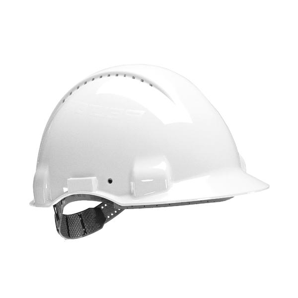 3M Peltor Safety Helmet White UV Stabilised ABS G3000