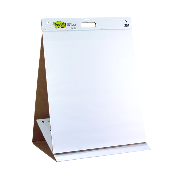 Post-it Super Sticky Table top Easel Pad (Pack of 6) 563
