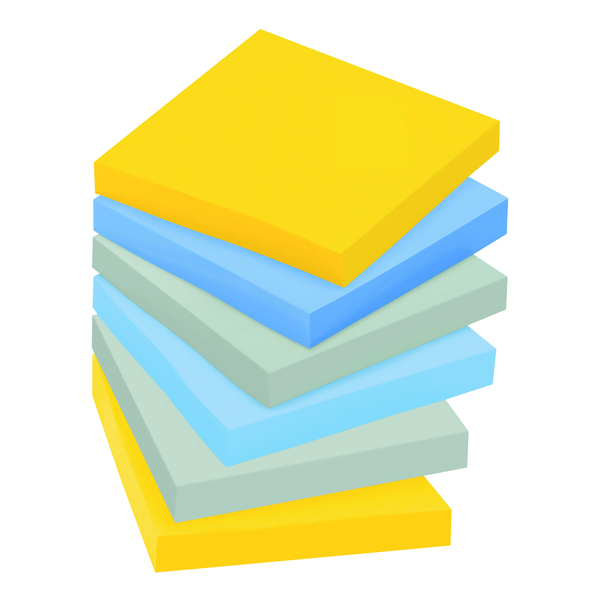 Post-it Super Sticky 76 x 76mm New York (Pack of 6) 654-SS-NY