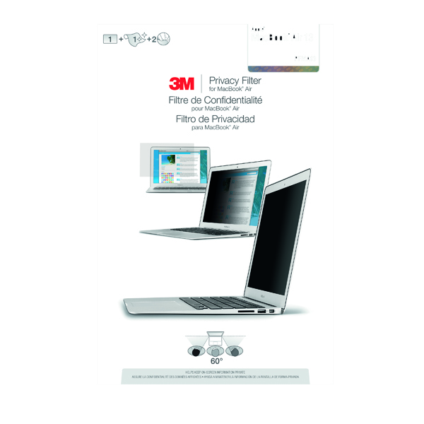 3M Privacy Filter for Apple Macbook Air 13in PFMA13