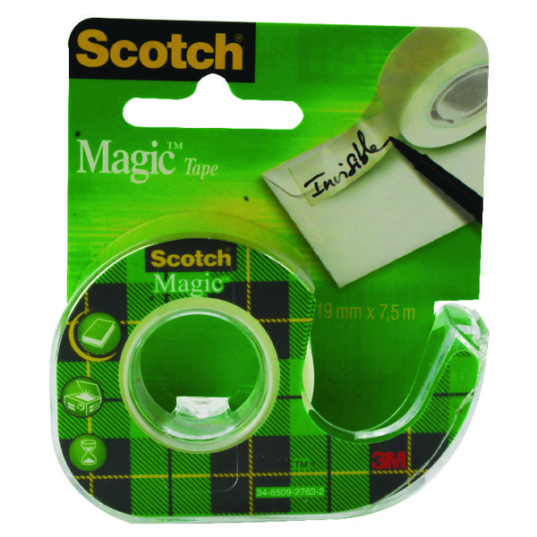 Scotch Magic Tape 19mm x7.5 Metres (Pack of 12) 81975D