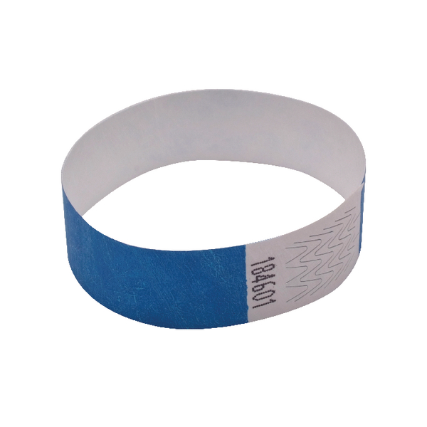 Announce Wrist Band 19mm Blue (Pack of 1000) AA01835