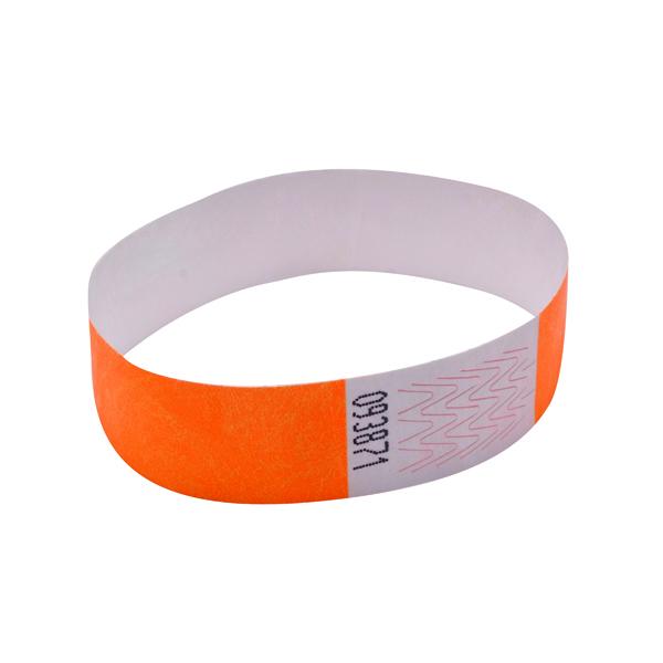 Announce Wrist Band 19mm Orange (Pack of 1000) AA01836
