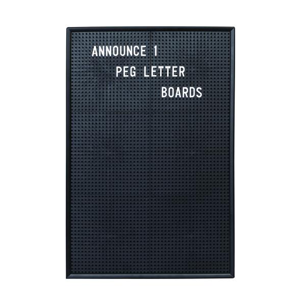 Announce Peg Letter Board 463x310mm 1/ECON-1/VC/EC-KIT692